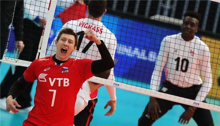 Мужская сборная РФ поволейболу стала 3-й намировом турнире