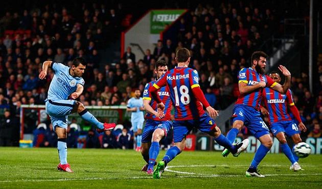 «Манчестер Сити» забил 5 мячей вворота «Кристал Пэлас»