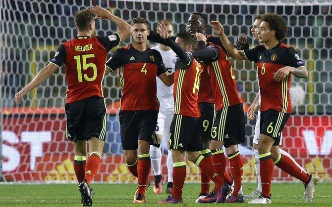 Сборные Бельгии иБоснии забили семь мячей вматче отборочного этапаЧМ