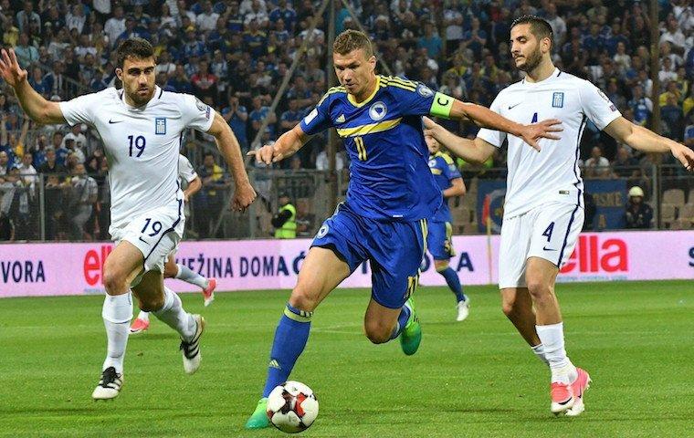 Бельгия вырвала победу над Боснией иГерцеговиной