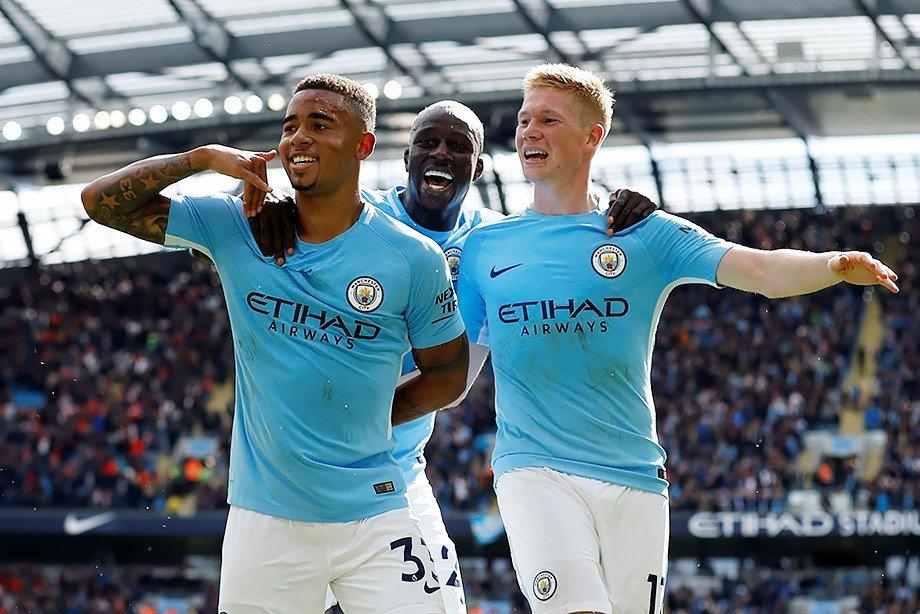«Манчестер Сити» разгромил «Тоттенхэм» вматче чемпионата Британии