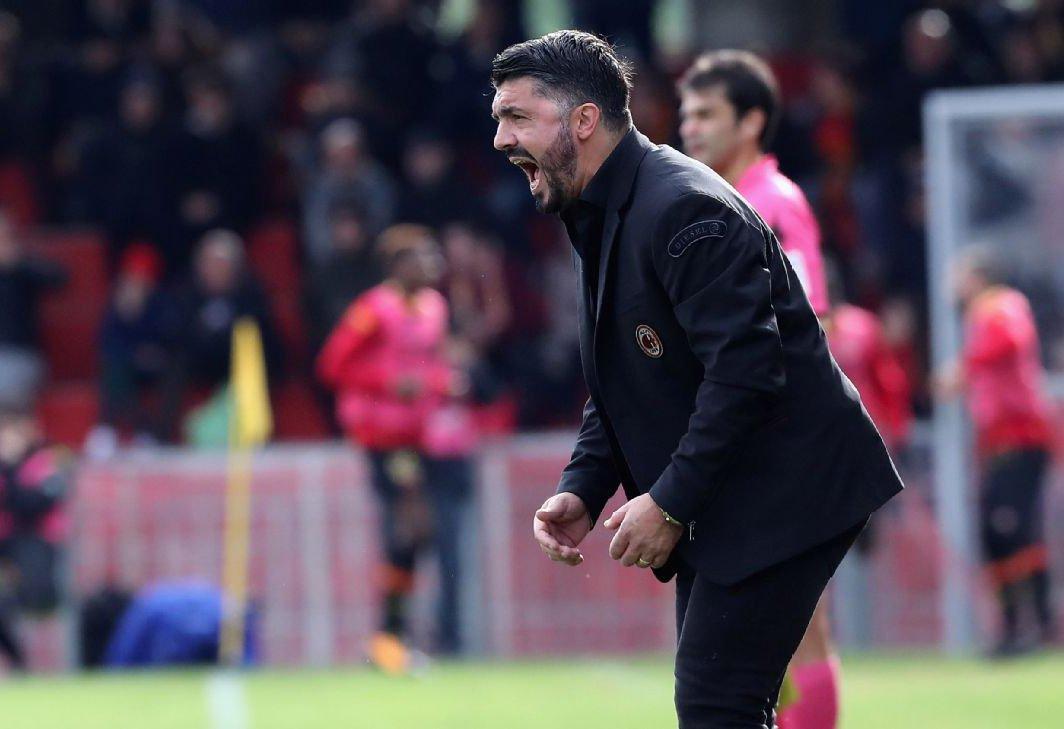 «Милан» одержал первую победу под управлением Гаттузо