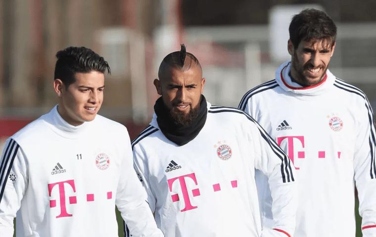 «Бавария» победила «Байер» вматче чемпионата Германии пофутболу