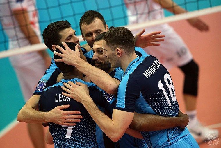 Казанский «Зенит» непобедим вЛиге европейских чемпионов
