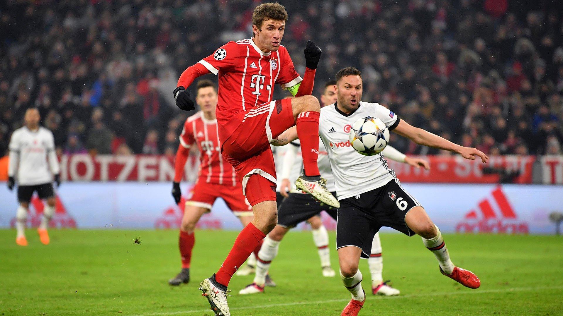 «Баварія» обіграла «Бешикташ» і вийшла дочвертьфіналу Ліги чемпіонів УЄФА