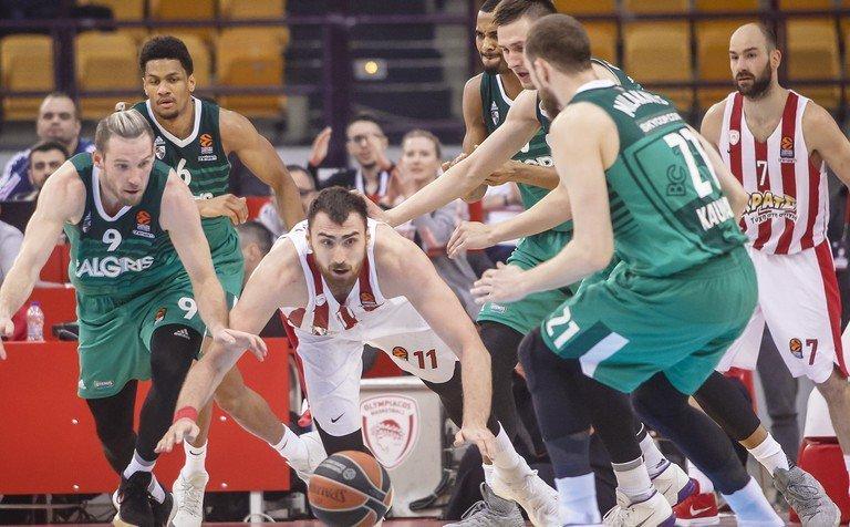Баскетболисты «Жальгириса» впервый раз с1999 года вышли в«Финал четырёх» Евролиги