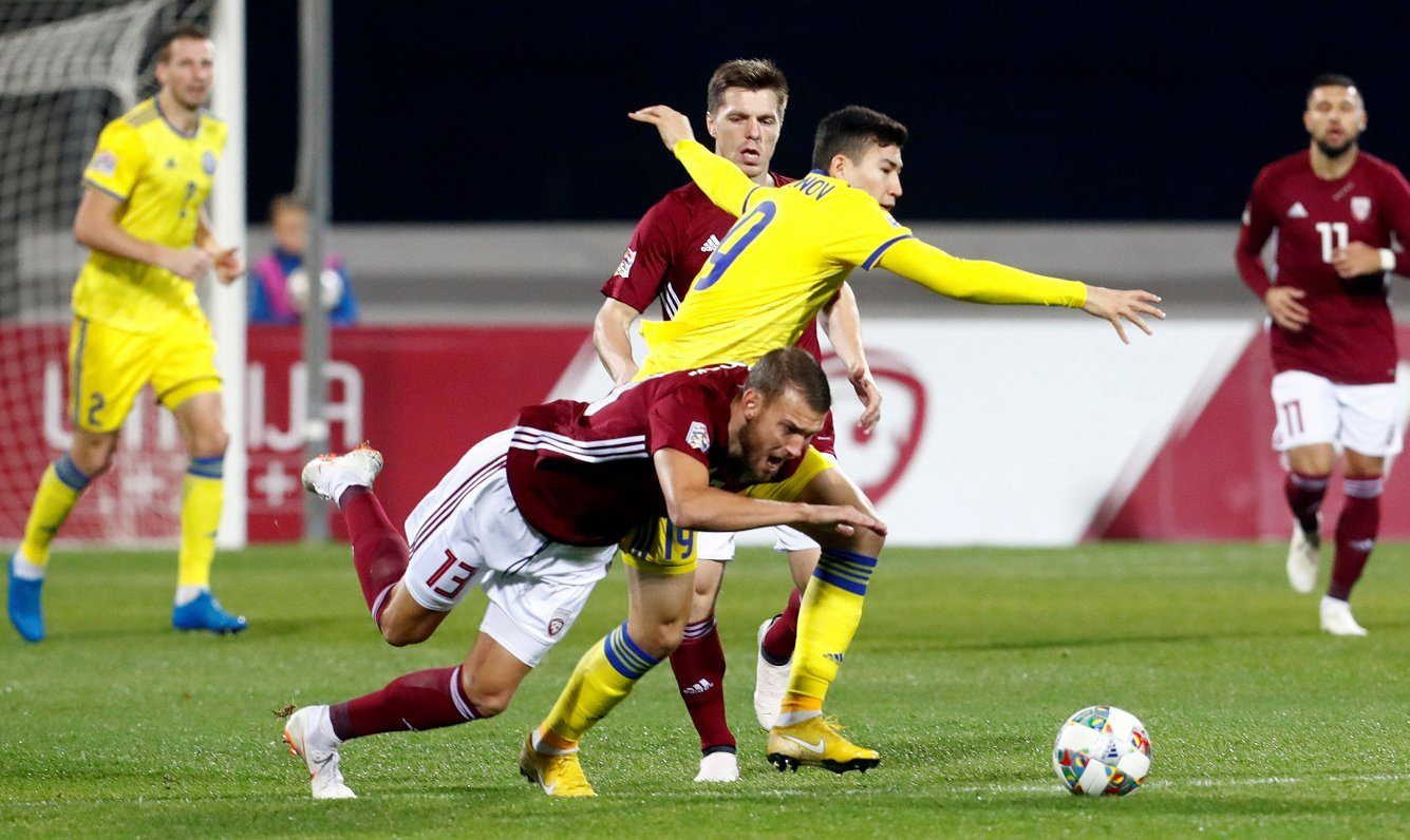 Прогноз на матч Казахстан - Латвия: три очка достанутся казахам